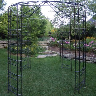 Aguilar 9 Ft. W x 9 Ft. D Metal Patio Gazebo by Oakland Living