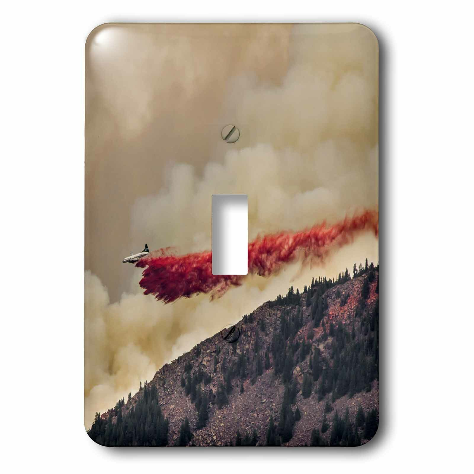 3drose Dropping Fire Retardant 1 Gang Toggle Light Switch Wall Plate Wayfair