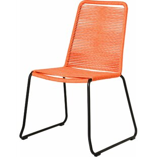 Raina Stacking Patio Dining Chair (Set of 2)