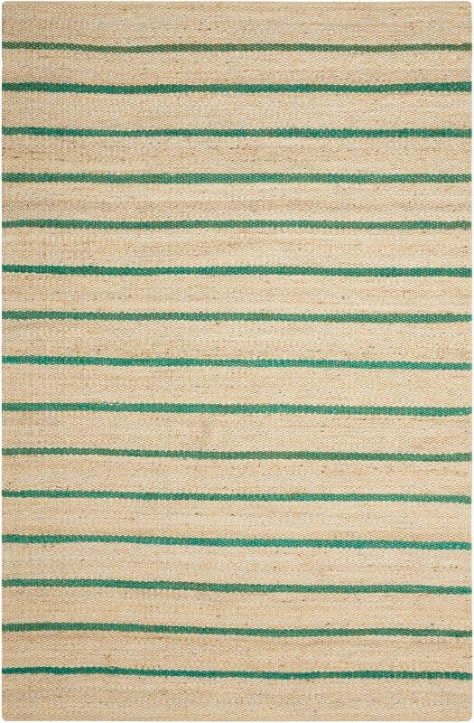 Kathy Ireland Home Laflin Hand Woven Green Wheat Area Rug Reviews Wayfair