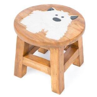 Dog Children's Stool by Just Kids