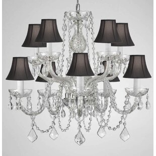 House of Hampton Kilgore 9-Light Shaded Chandelier