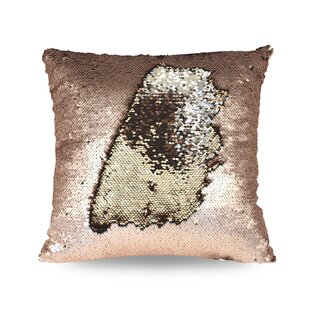 Reversible Mermaid Sequin Throw Pillow