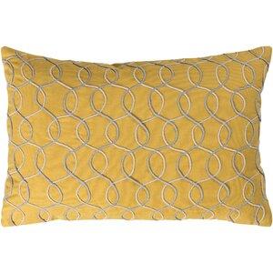 Solid Bold II Cotton Lumbar Pillow