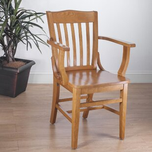 Kershaw Solid Wood Dining Chair by Alcott..