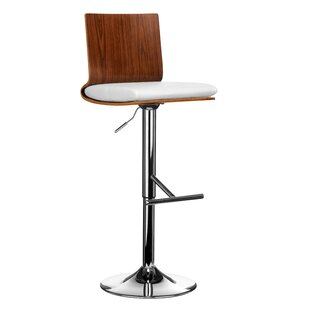 Yareli Height Adjustable Bar Stool By Symple Stuff