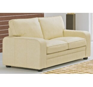 Ruthville Leather 2 Seater Sofa By 17 Stories