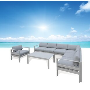 Orren Ellis Milano Sectional with Cushions