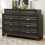 Cloe Wood 8 Drawer Dresser by Red Barrel Studio®