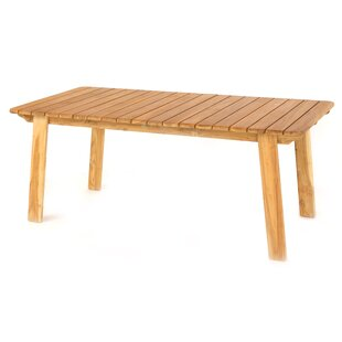 Charvi Wooden Dining Table By Sol 72 Outdoor