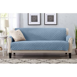 Symple Stuff Box Cushion Sofa Slipcover
