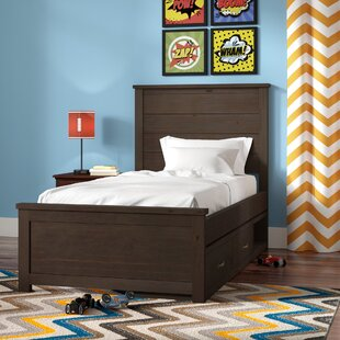 Stella Twin Storage Panel Bed by Grovelane Teen