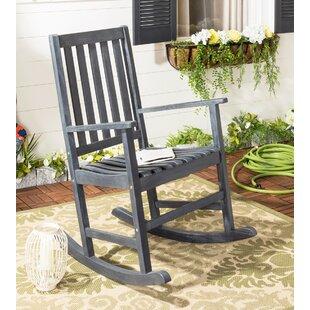 Barstow Teak Rocking Chair