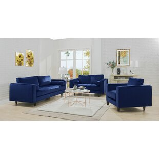 Everly Quinn Gearhart Configurable Living Room Set
