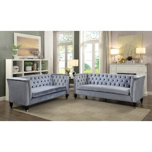 Everly Quinn Gessner Configurable Living Room Set