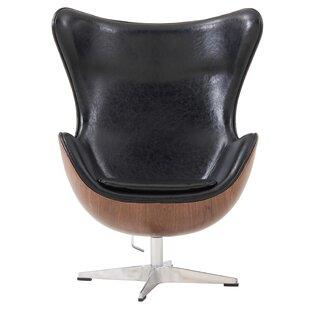 Ruddell Swivel Wingback Chair by Orren Ellis