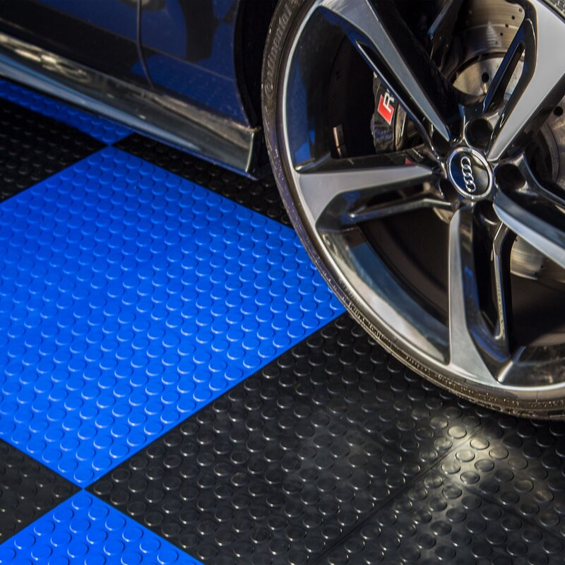 Flooringinc Coin Nitro Mat Snap Together 12 X Garage Flooring