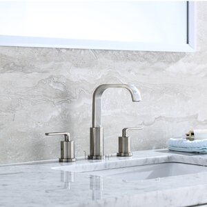 Contemporary Widespread Handle Bathroom Faucet
