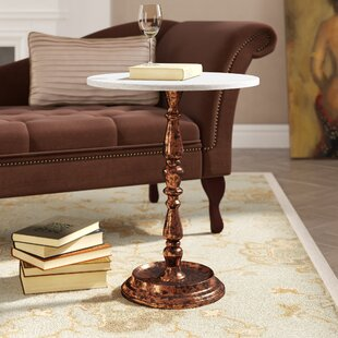 Rambert Marble Top End Table by Astoria Grand