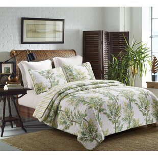 Abercrombie Palm Grove Coastal Reversible Quilt Set
