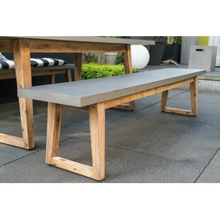 Woking Concrete Bench By Sol 72 Outdoor