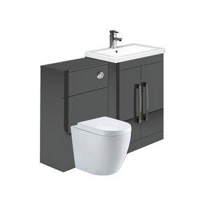 Aparicio 600cm Bathroom Furniture Suite By Mercury Row
