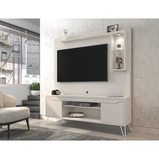 Neppie Floating Entertainment Center For TVs Up To 55