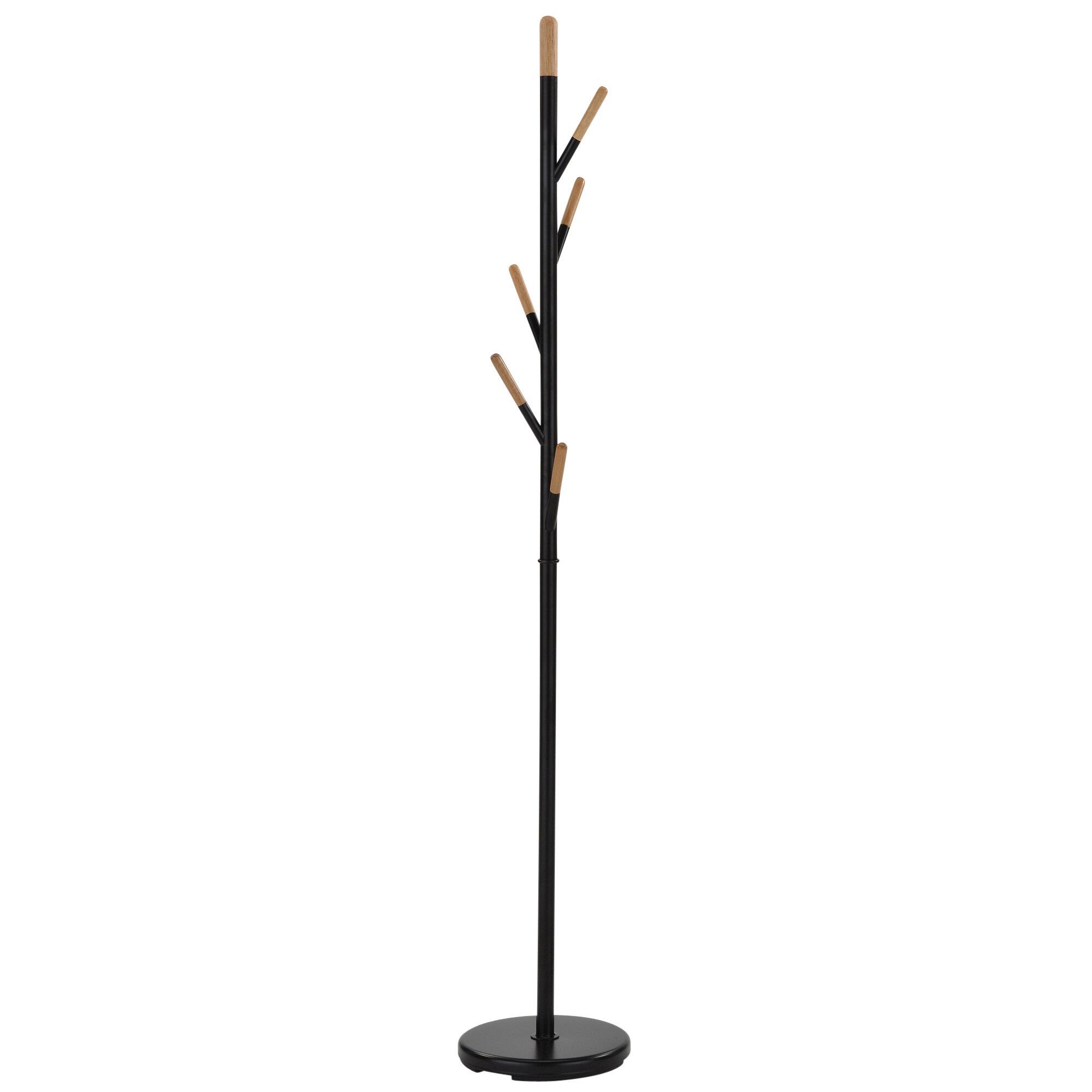 amazon com rack hanger view and wooden coat larger umbrella standing memphis tree dp winsome