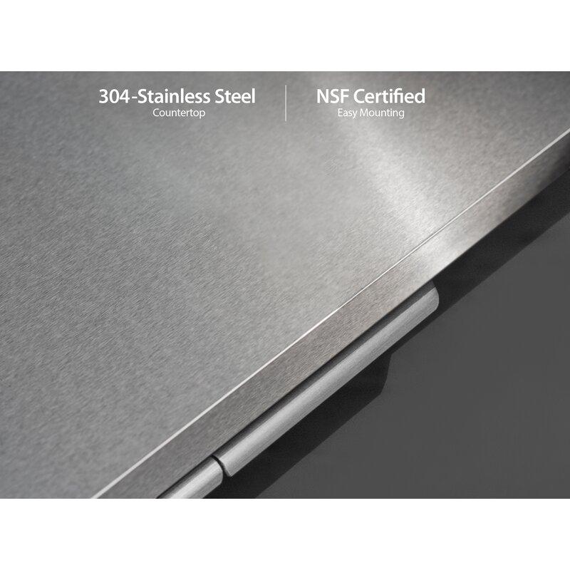 "NewAge Products Aluminum 64"" 2 -Piece Modular Outdoor ..."