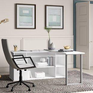 Alves L-Shape Executive Desk By Ebern Designs