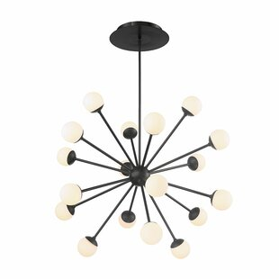 George Oliver Pellston 24-Light LED Sputnik Chandelier