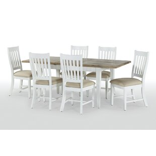 Great Deals Bellemoor Extendable Dining Table With 6 Chairs