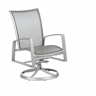 Wyatt Flex Sling Swivel Rocker Patio Dining Chair