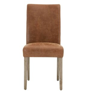 Aryan Wooden Upholstered Dining Chair (Se..