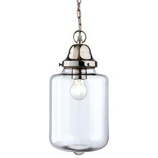 Craft 1-Light Jar Pendant by Firstlight