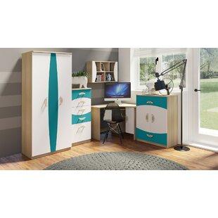 Jacklyn 5 Piece Bedroom Set By Harriet Bee