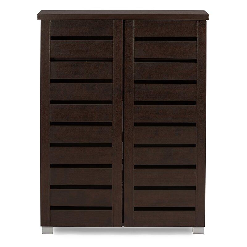 Katherine 2 Door Shoe Storage Cabinet