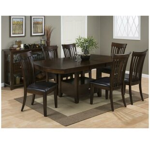 Aalin Wooden Counter Height Dining Table by Winston Porter