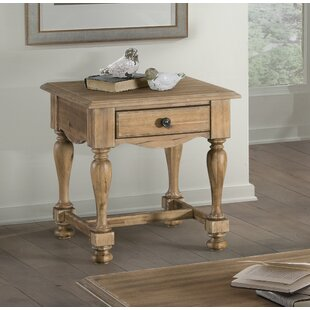 Reviews Dannie End Table by Darby Home Co