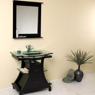 Classico 32 Single Bathroom Vanity Set with Mirror by Fresca