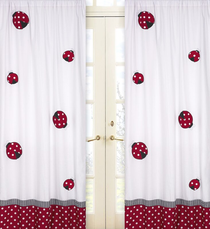 Little Ladybug Curtain Panels