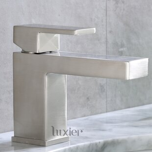 Luxier Single Hole Bathroom Faucet
