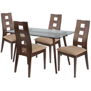 Estella 5 Piece Dining Set by Ebern Designs