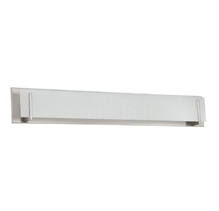 Best Price Chesney 7-Light Glass Shade Bath Bar ByWade Logan