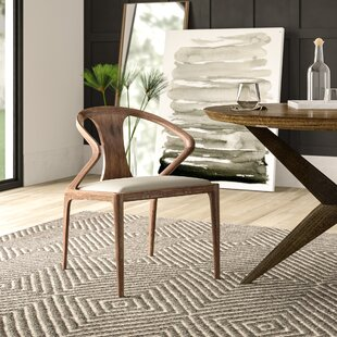 Mulkey Upholstered Dining Chair by Mercury Row