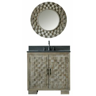 Claris 36 Single Bathroom Vanity Set with Mirror by Bungalow Rose