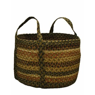 Best Reviews Russet Wicker Basket By Homespice Decor