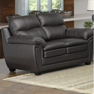 Coyle Leather Loveseat