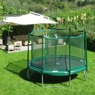 Kidwise 14 ft. Round Trampoline with Enclosure
