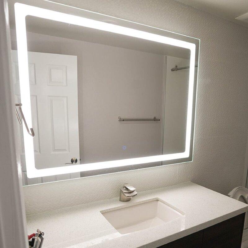 Dyconn Faucet Swan Bathroom/Vanity Mirror & Reviews | Wayfair